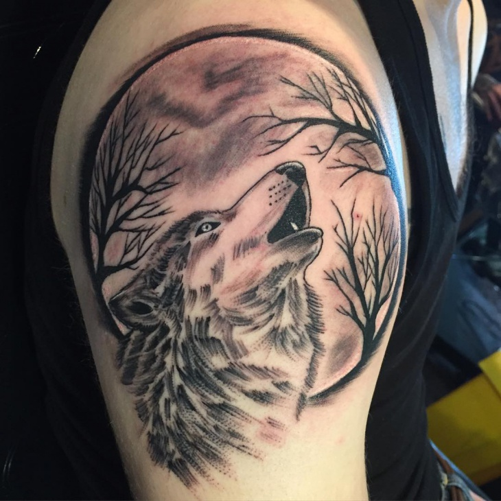 Wolf Tattoo Design Ideas For Men And Woman: 60+ Tattoo Designs For Men, Ideas