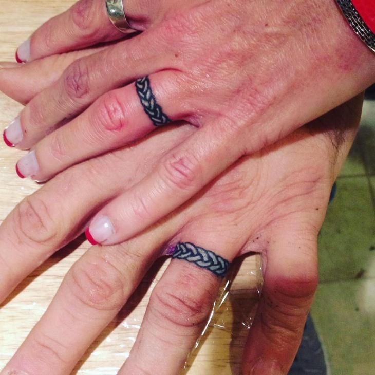 Celtic Wedding Ring Tattoo Ideas - Image Wedding Ring Imagemag.co