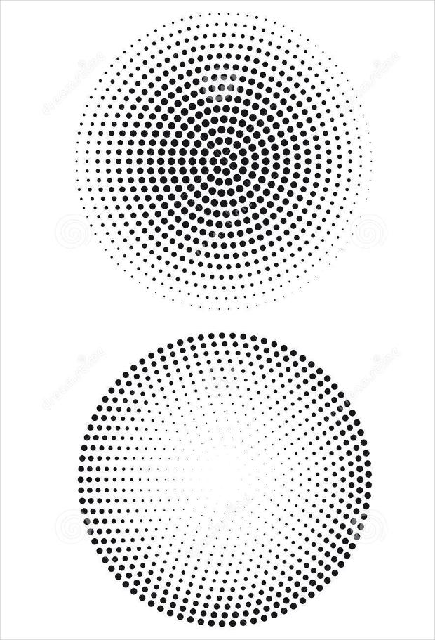 halftone dot pattern