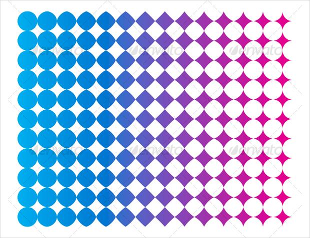 halftone offset pattern