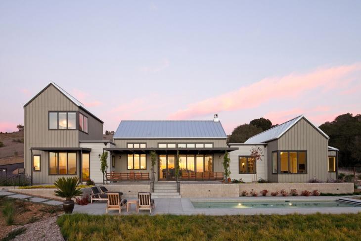 modern house roof idea