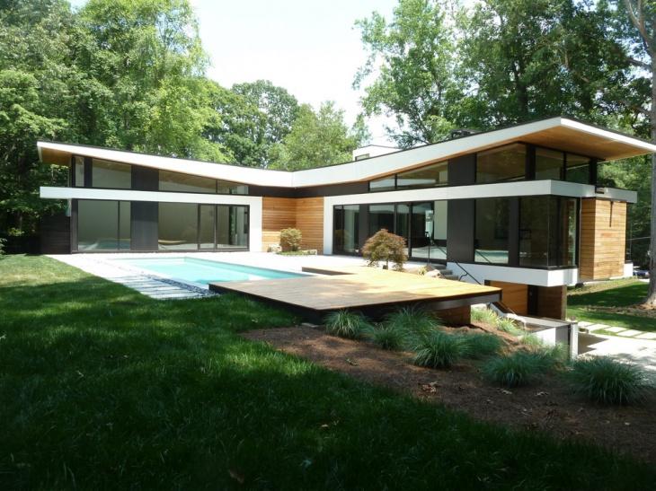 curve modern roof design