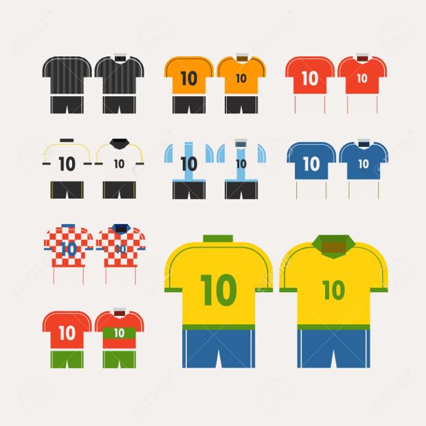 Vector Football T shirt