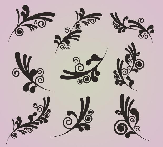 Wedding Swirl Clipart