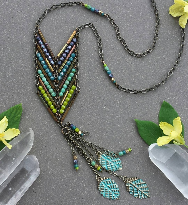 long beaded jewelry