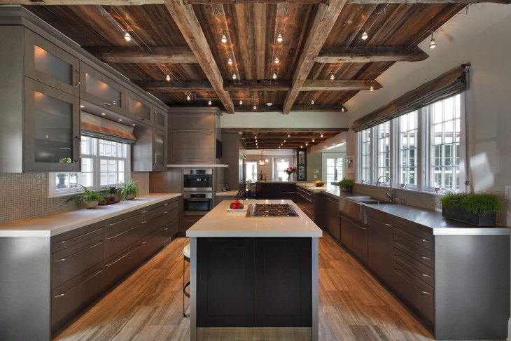 modern rustic ceiling lights