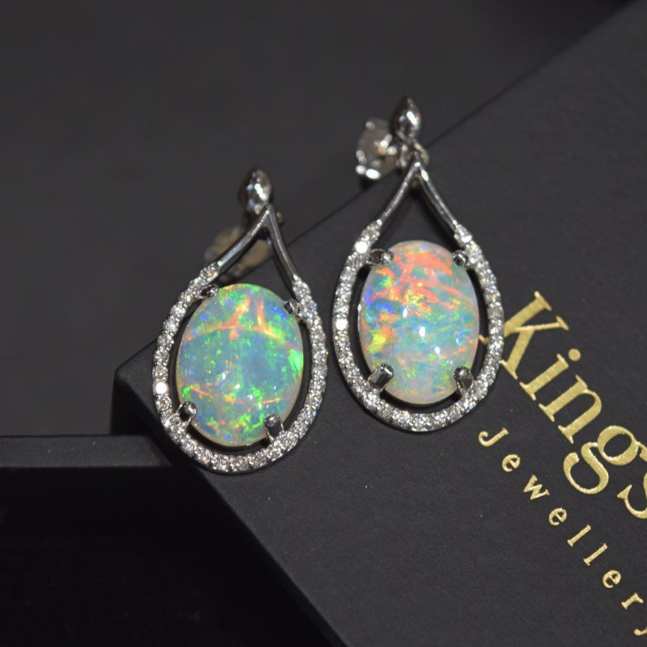 awesome opal earrings design