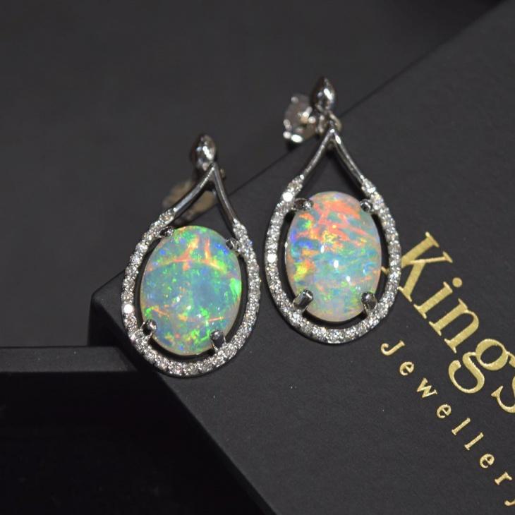Awesome Opal Earrings Design