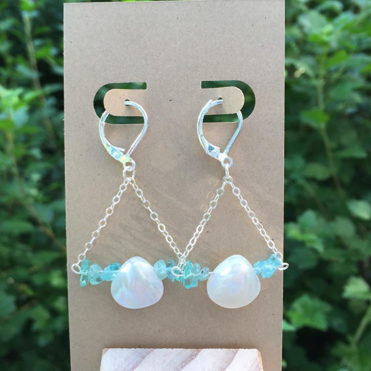 Unique Opal Earrings Design
