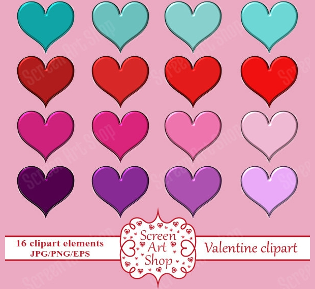 Love Heart Clipart