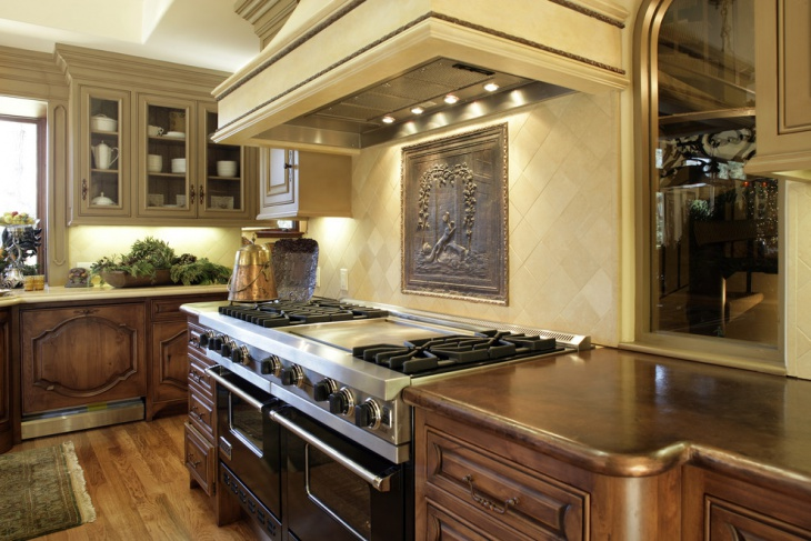 small tuscan kitchen design