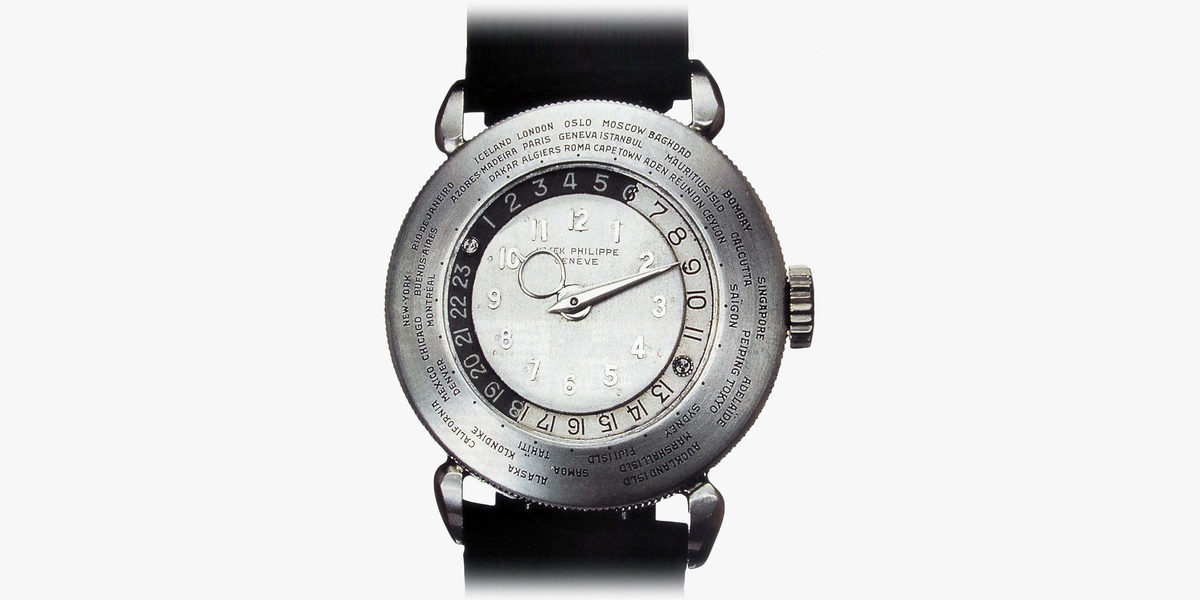 1939 Patek Philippe Platinum World Time Watch