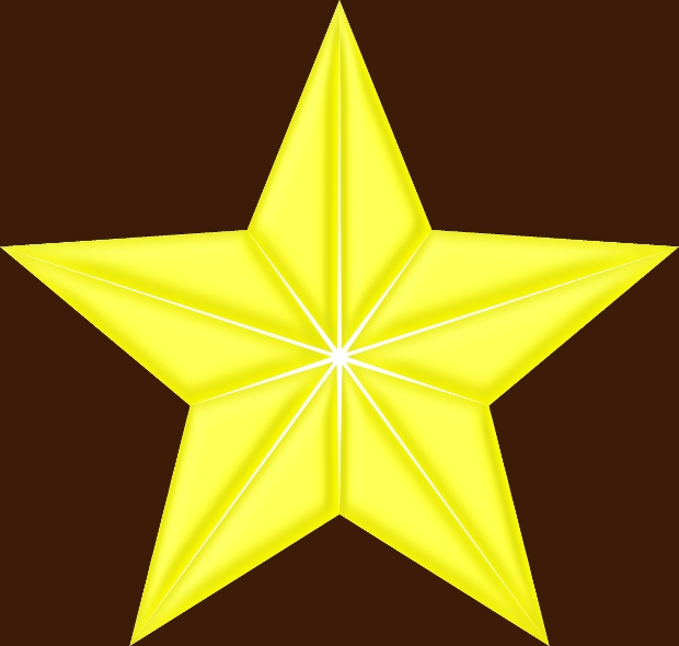 Yellow Star Clipart