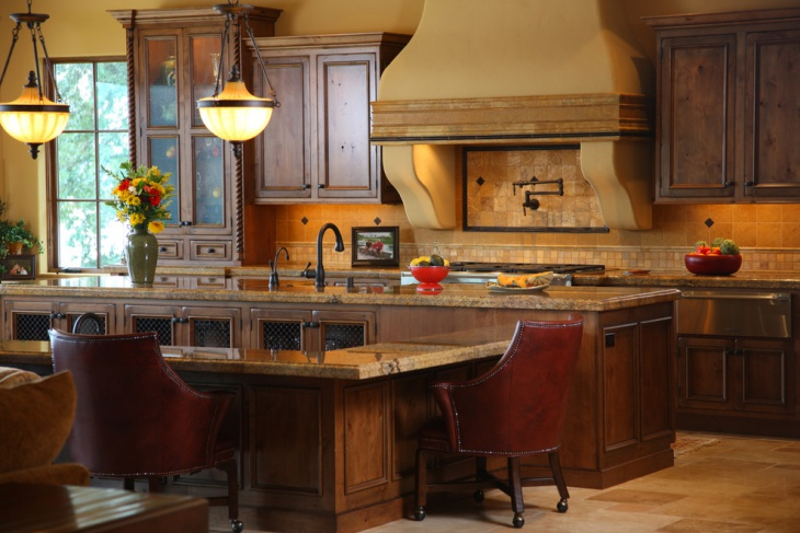 traditional tuscan kitchen design