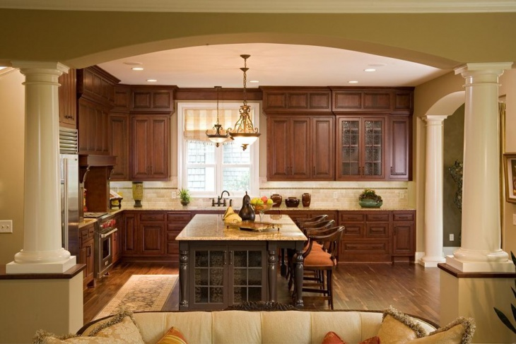 tuscan kitchen interior design lighting