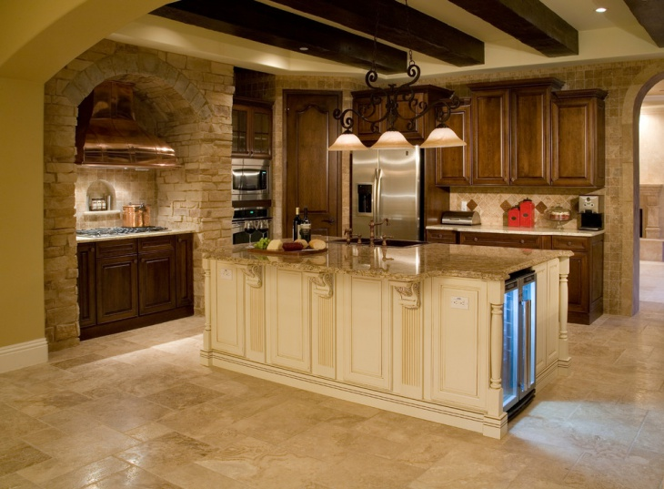tuscan villa kitchen design