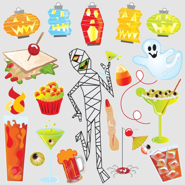 halloween party clipart
