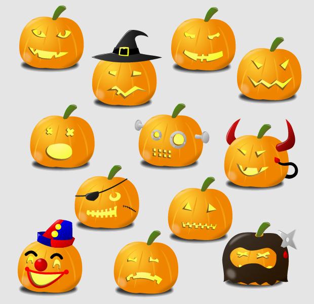 Pumpkin Carving Clipart