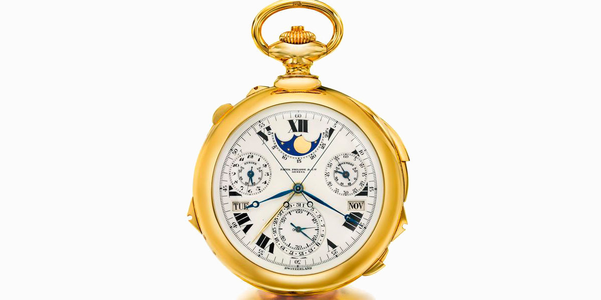 Patek Philippe Henry Graves Pocket Watch