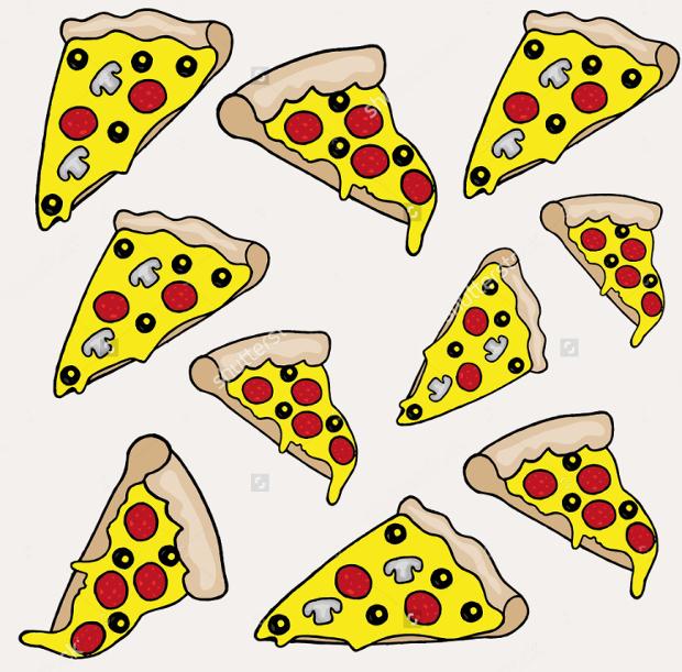 Pizza Vector Clipart