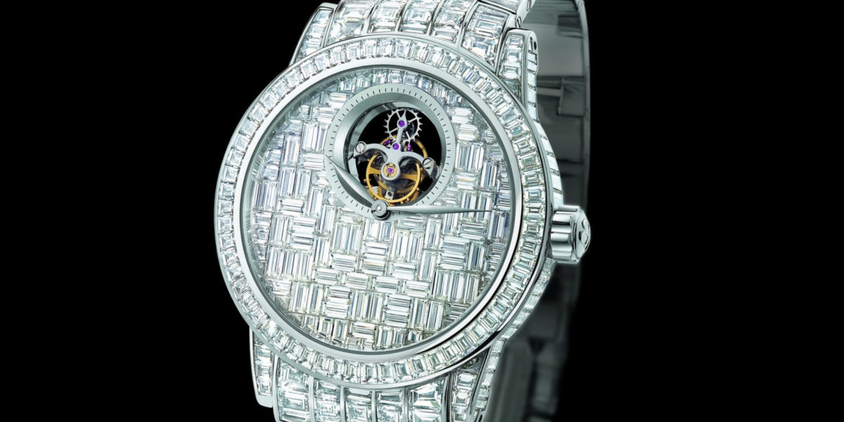Blancpain Specialites Tourbillon Diamond Watch