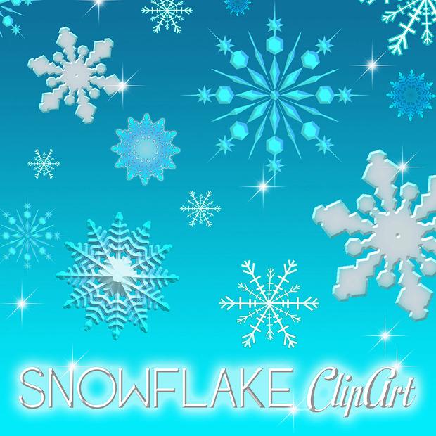Snowflake Frozen Clipart