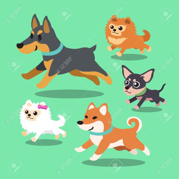 Cartoon Dog Clipart