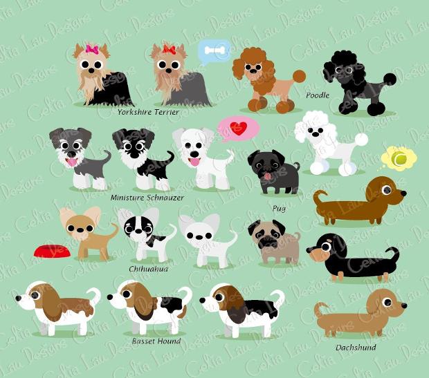 Cute Dog Clipart