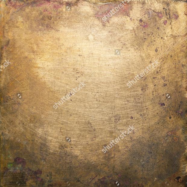 Old Brass Plate Texture Design