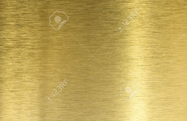high quality brushed brass texture