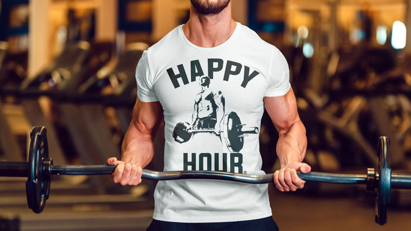 gym crossfit t shirt