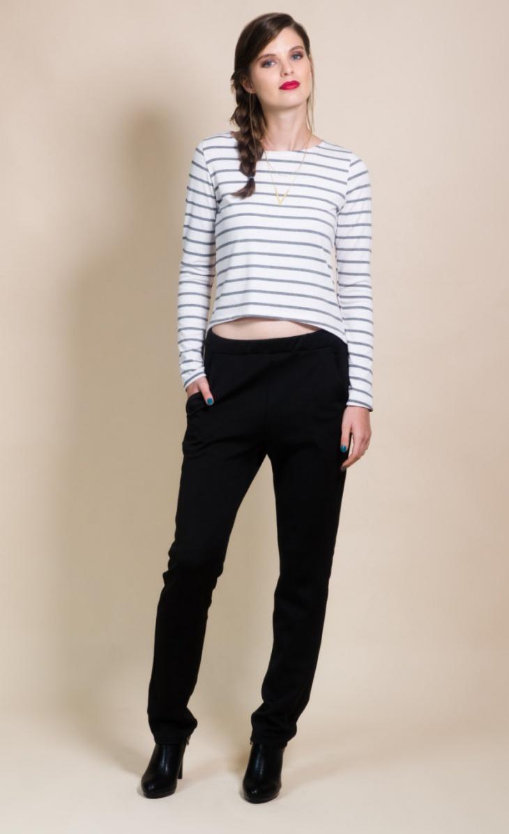 striped long sleeve t shirt