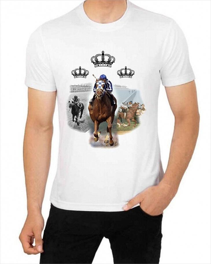 horse racing t shirt design1