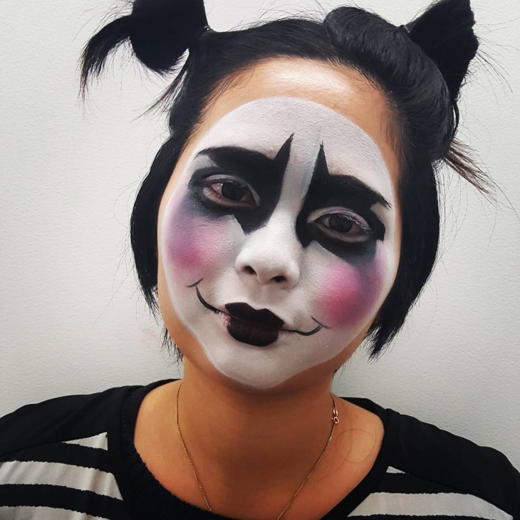 Mime Makeup Design