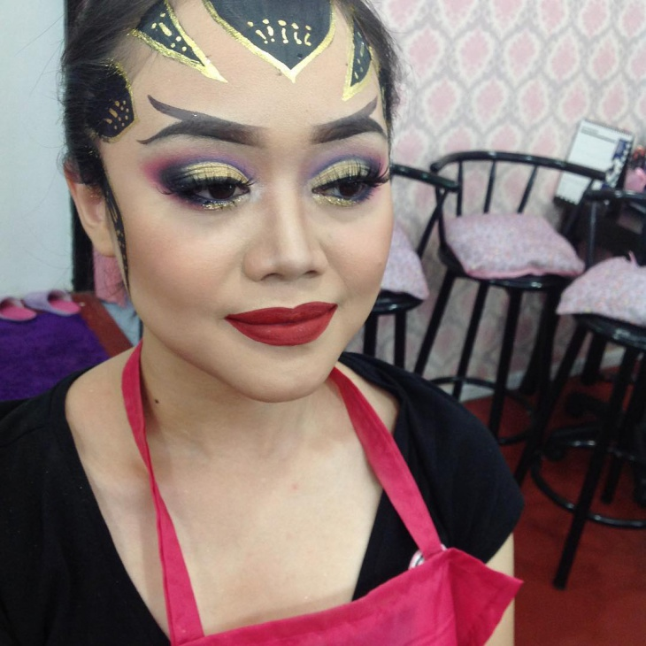 Stage Makeup Design
