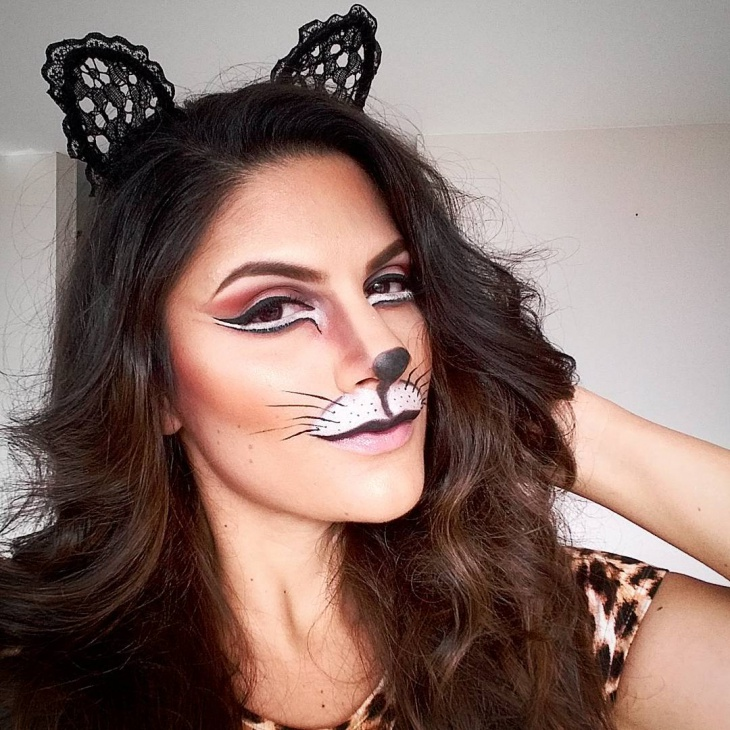 cat makeup design