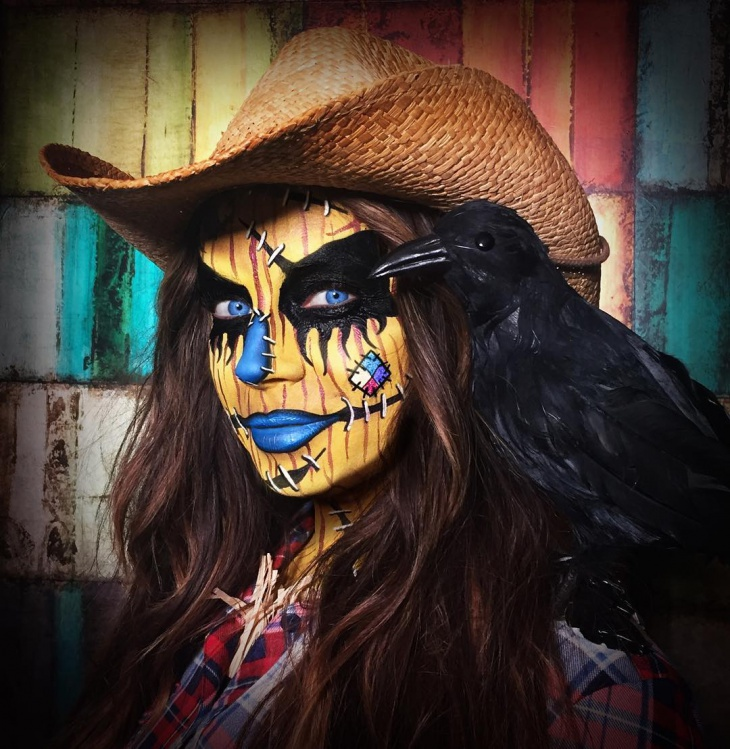 Scarecrow Makeup Design