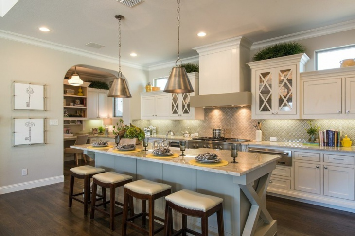 traditional galley kitchen design