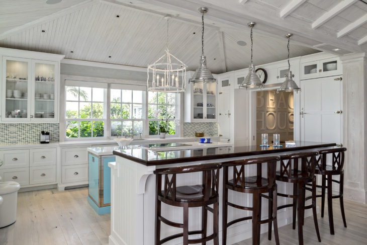 beach cottage kitchen design