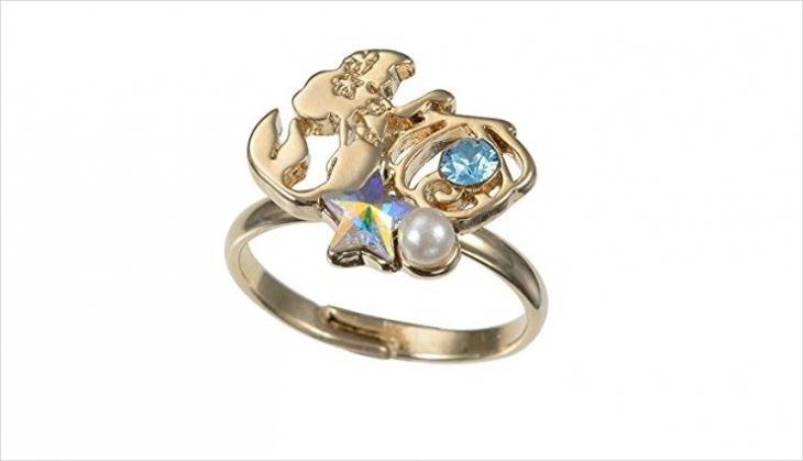 crystal mermaid ring