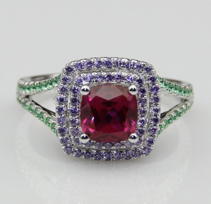 mermaid engagement ring