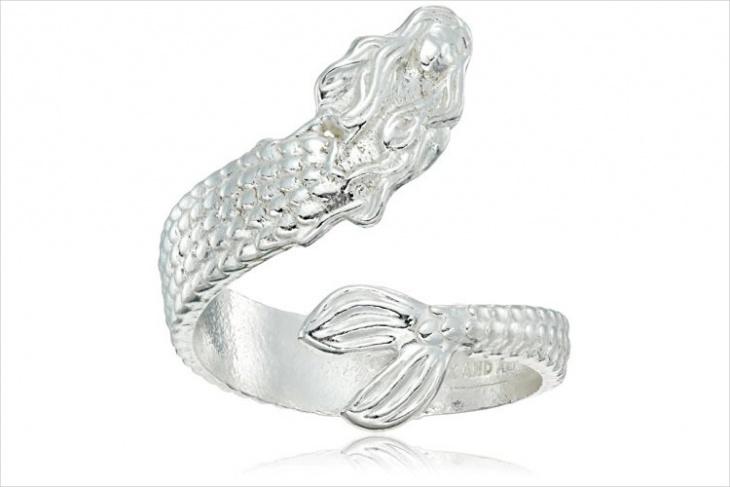 mermaid wrap ring design