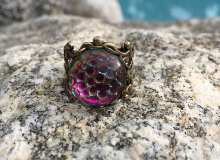 mermaid brass ring idea