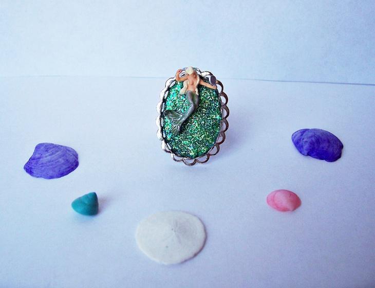 cool mermaid ring idea