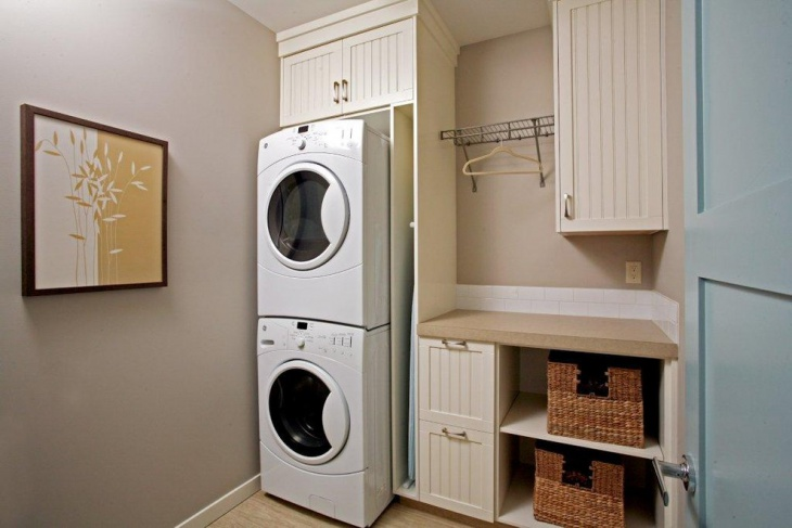 small laundry room cabinets