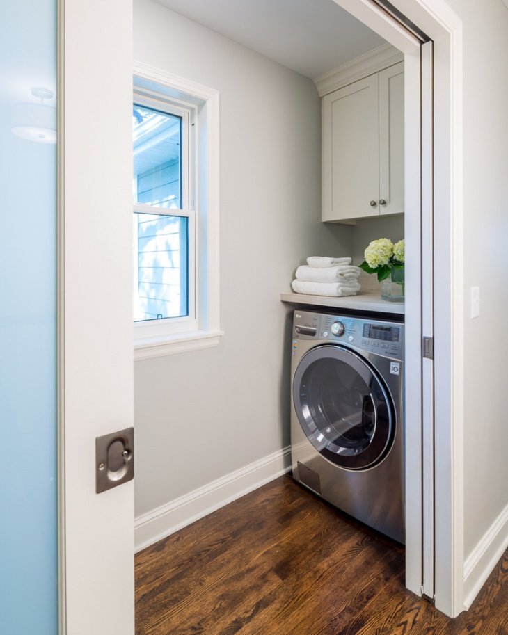 92 narrow laundry room design 22 charming small laundry for Small utility room