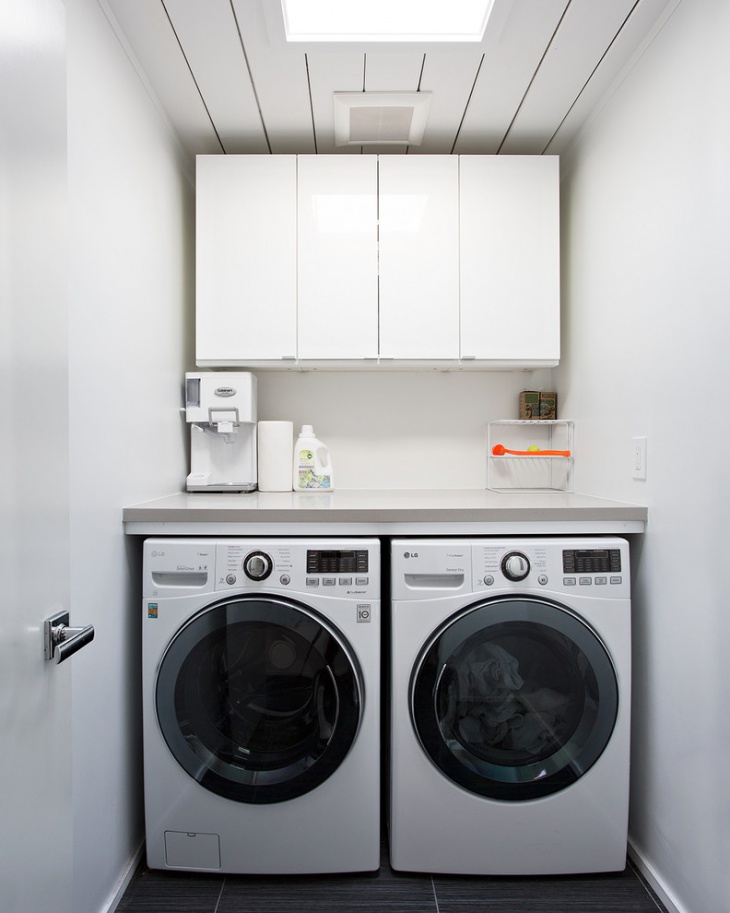 18 small laundry room designs ideas design trends for Small utility room