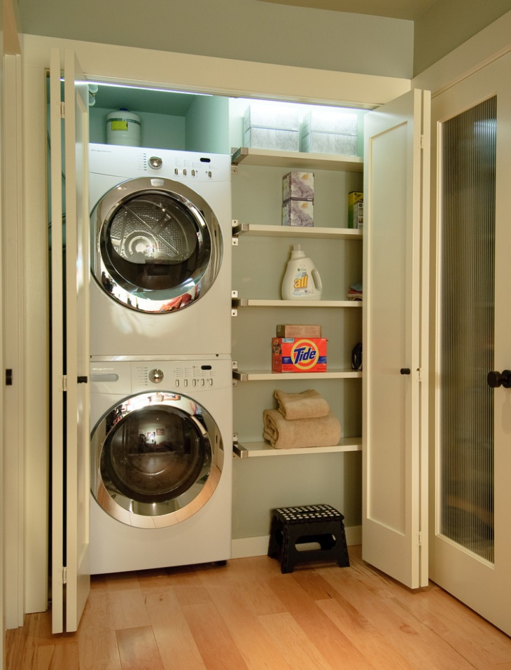 small cottage laundry room