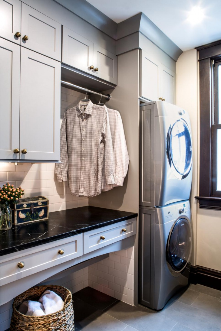 18+ Small Laundry Room Designs, Ideas | Design Trends ... on Small Laundry Room Cabinets  id=41712