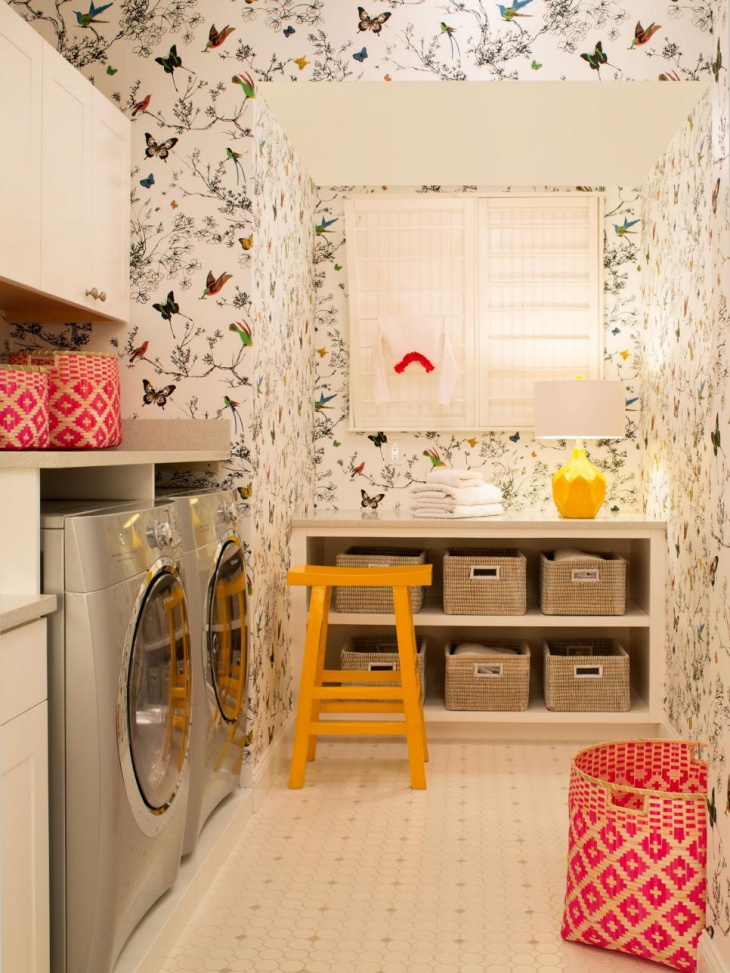 18 small laundry room designs ideas design trends - Laundry room wall ideas ...